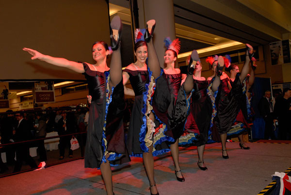 2006 VIWF Wines of France Moulin Rouge Show