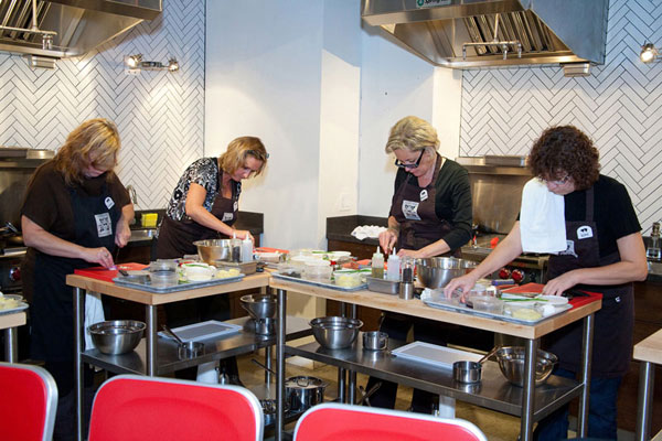 Wines of France Teaches BCLDB Cooking Classes 2010
