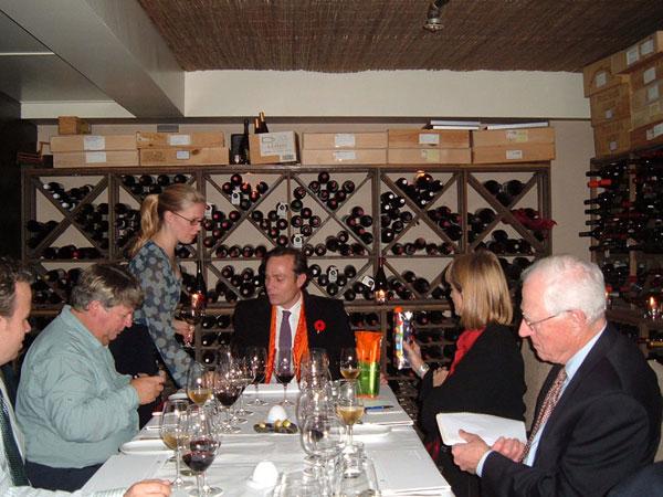 French rabbit Press Dinner 2006