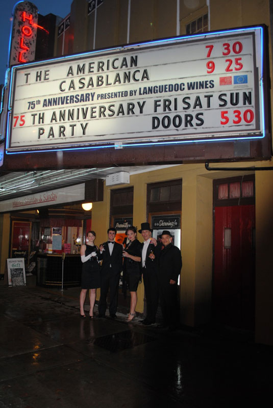Languedoc Hollywood Theatre Marquee 2010