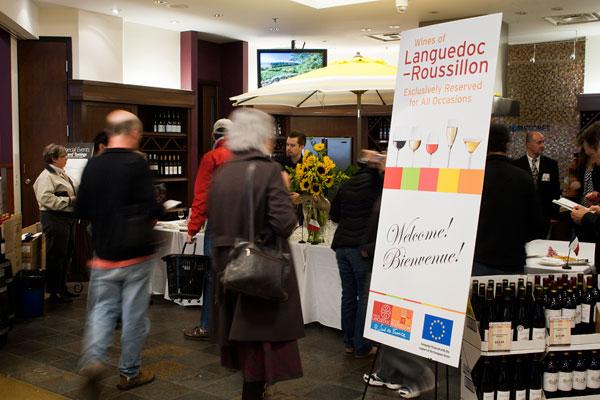 Languedoc-Roussillon BC Liquor Stores Event 2011
