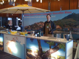 South of France Booth at VIWF 2012