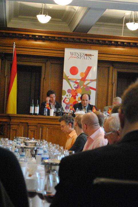Vega Sicilia Master Class at VIWF 2011